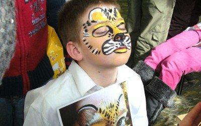 A Tiger at School