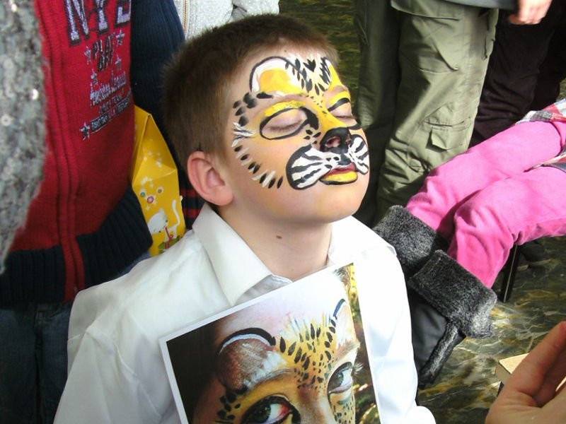 A Tiger at School