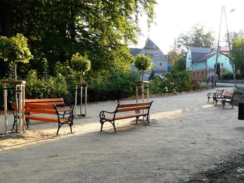 Umbau der  Bushaltestelle