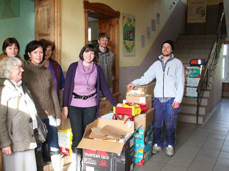 Zimowa akcja charytatywna